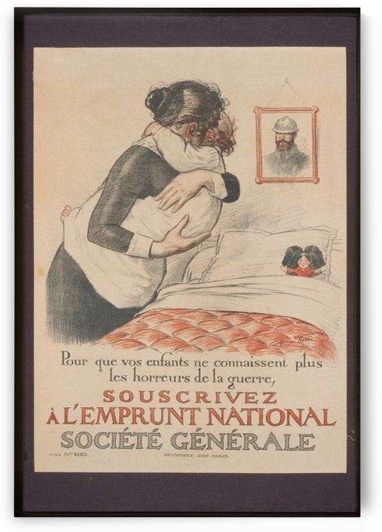 Vintage---Protect-the-infants by VINTAGE POSTER