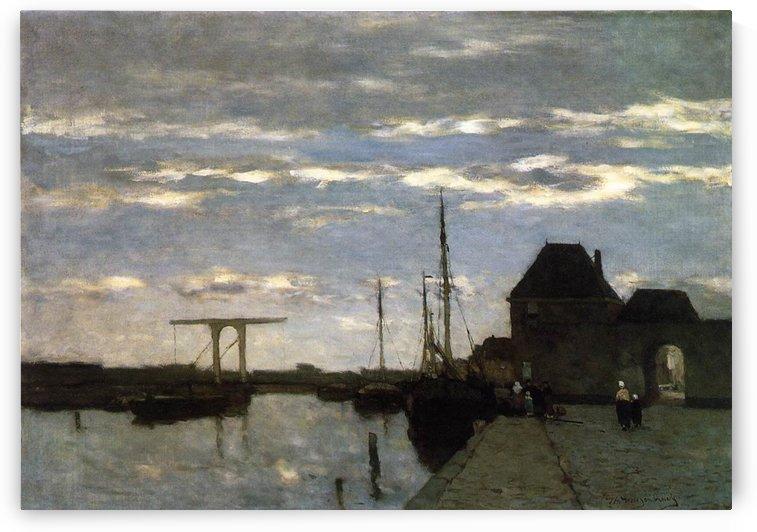 View of Haarlem by Jan Weissenbruch