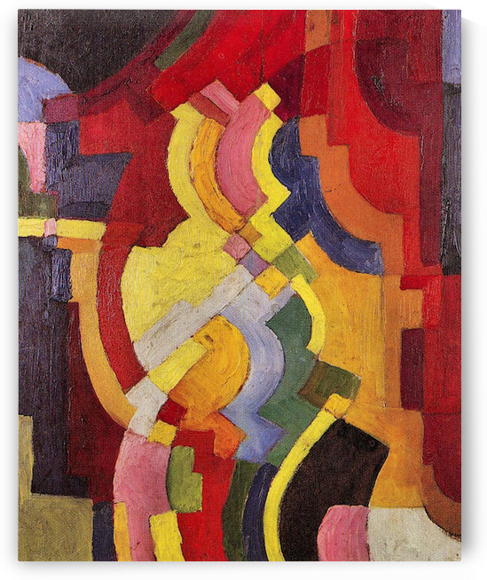 Colored forms (III) by August Macke by August Macke
