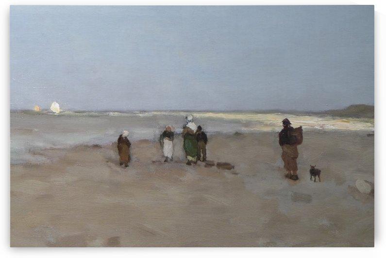 Beach View 1887 by Jan Weissenbruch