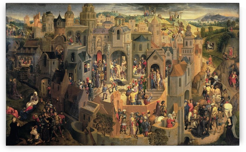 Passion of Christ by Hans Memling