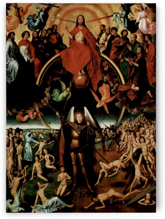 The Last Judgment, triptych, central panel by Hans Memling