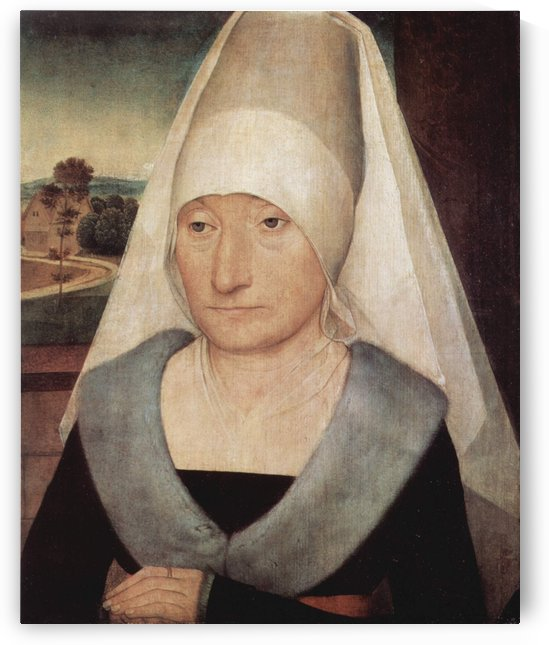 Portrait of an old woman, 1472 by Hans Memling