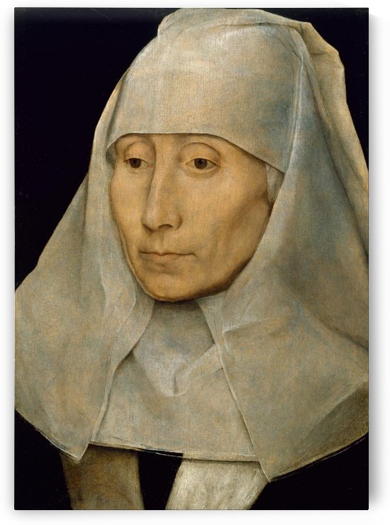 Portrait of an Old Woman by Hans Memling