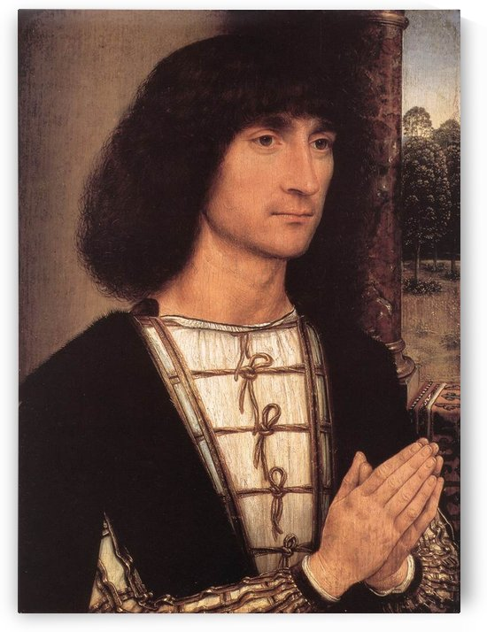 Portrait of a Young Man, 1490 by Hans Memling