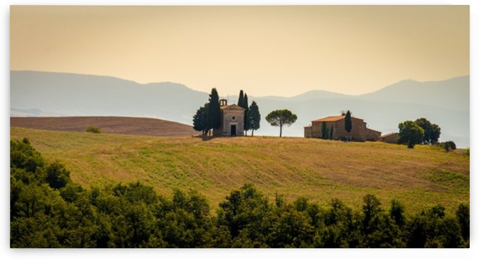 small church in tuscany by Fabien Dormoy