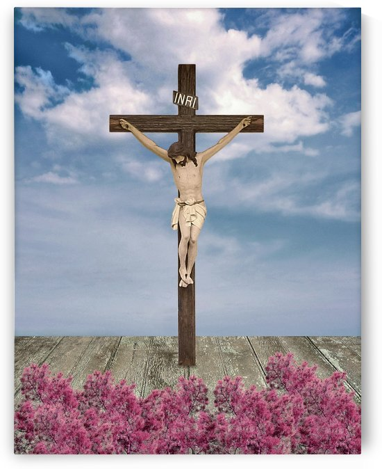Jesus on the Cross Illustration by Daniel Ferreia Leites Ciccarino