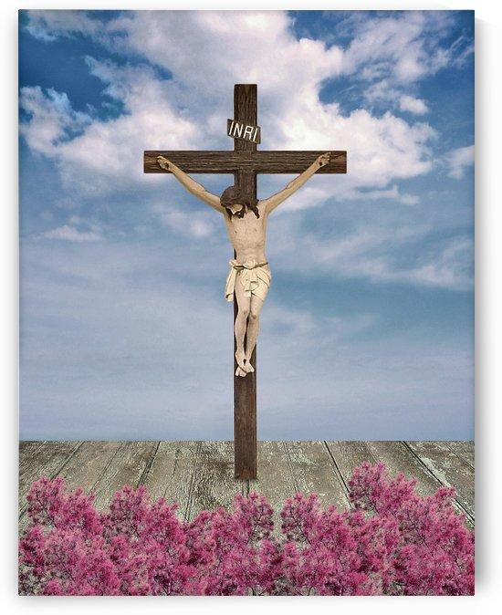 Jesus on the Cross Illustration by Daniel Ferreia Leites Ciccarino
