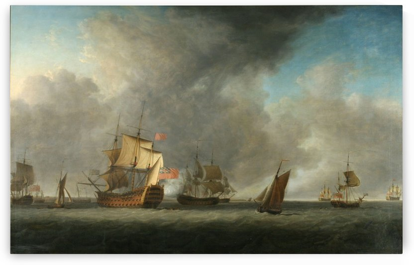 Vessels of the East India Company and Other Ships by Dominic Serres