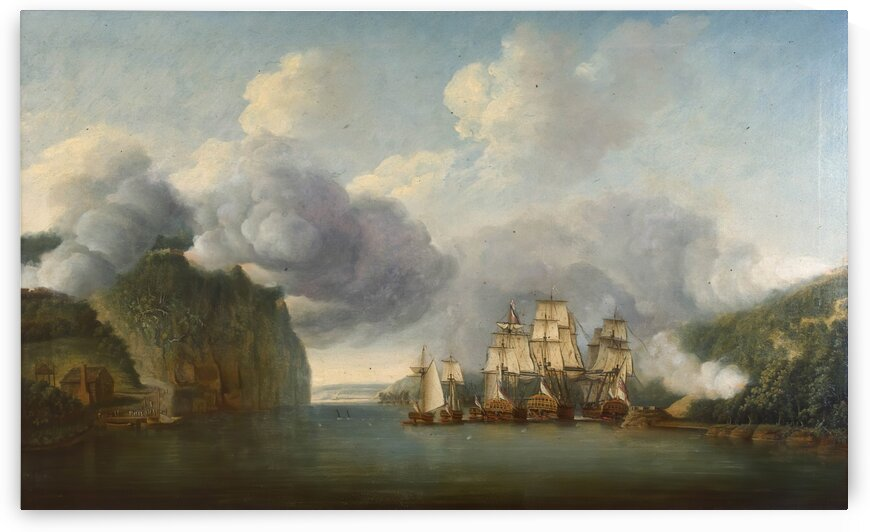Forcing a Passage of the Hudson by Dominic Serres