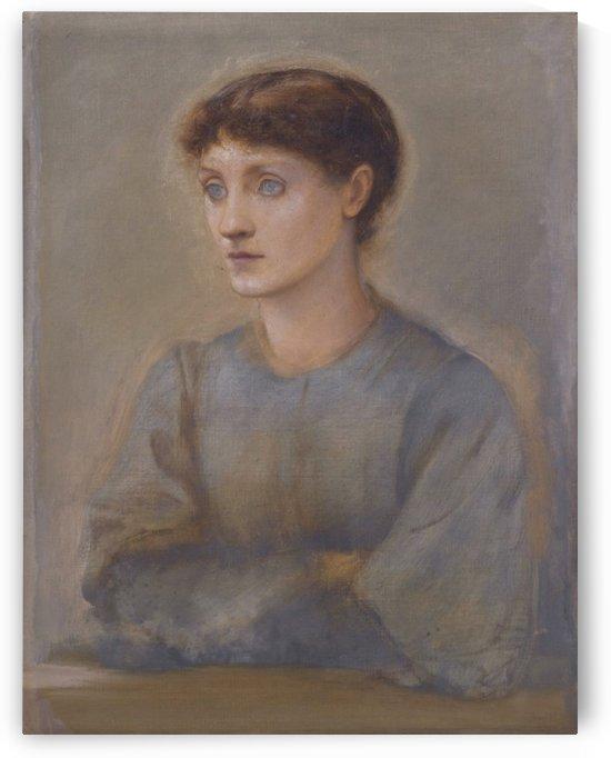 Margaret, daughter of Edward Coley Burne-Jones by Sir Edward Coley Burne-Jones