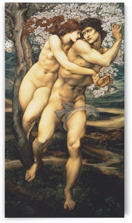 The tree of forgiveness by Sir Edward Coley Burne-Jones