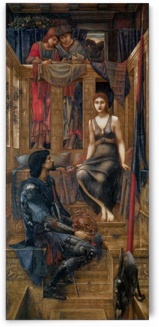 King Cophetua and the Beggar Maid by Sir Edward Coley Burne-Jones