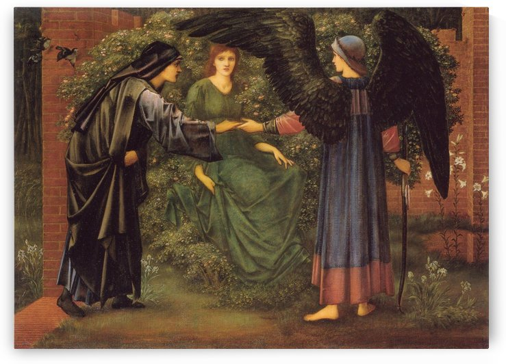 The Heart of the Rose by Sir Edward Coley Burne-Jones