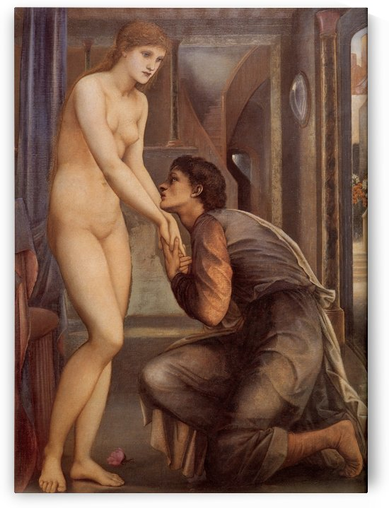 Pygmalion and the Image by Sir Edward Coley Burne-Jones