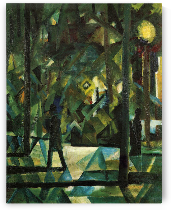Evening by August Macke by August Macke
