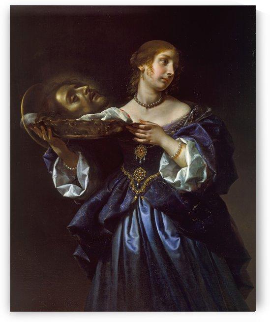 Head of Saint John the Baptist by Carlo Dolci