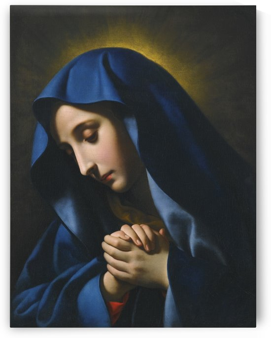 The Madonna at Prayer by Carlo Dolci