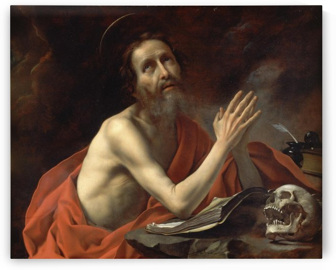 Saint Jerome, 1655 by Carlo Dolci