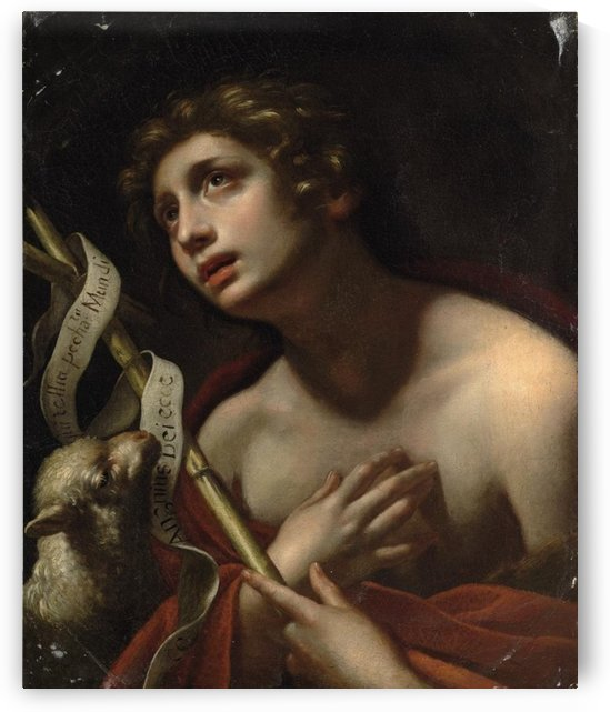 Saint John the Baptist with the Lamb of God by Carlo Dolci