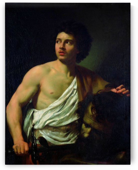 David with the Head of Goliath by Carlo Dolci
