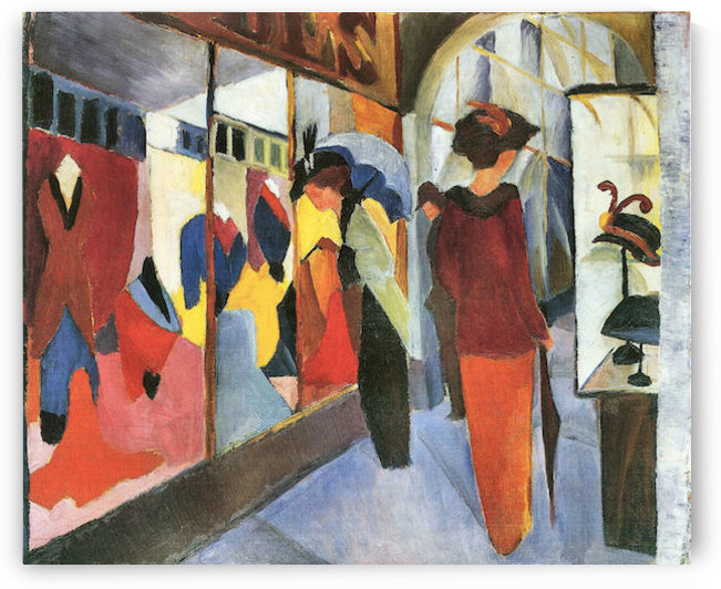 Fashion Store by August Macke by August Macke