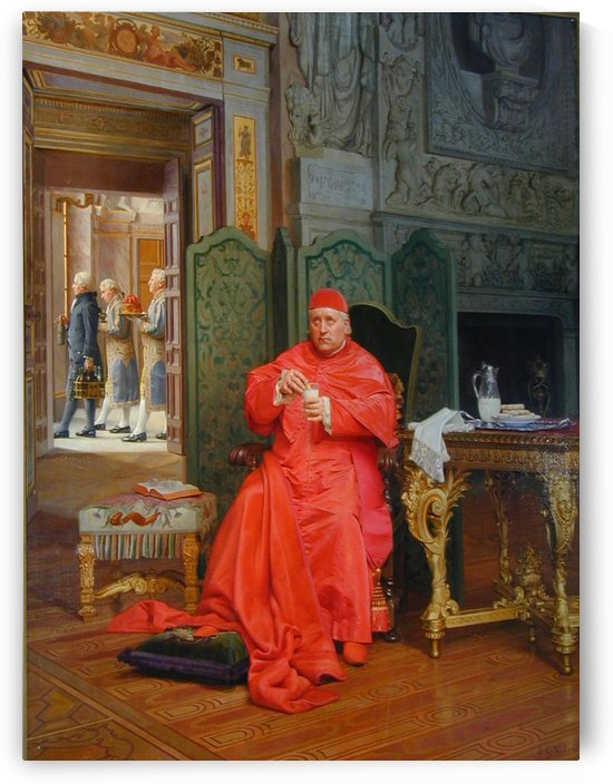 The Diet by Jehan-Georges Vibert