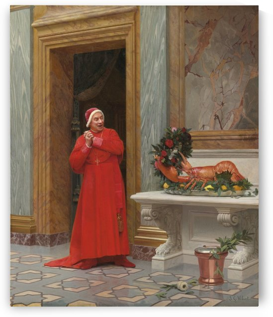 Les deux robes by Jehan-Georges Vibert