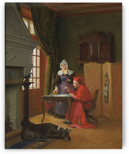 The Three Patiences by Jehan-Georges Vibert