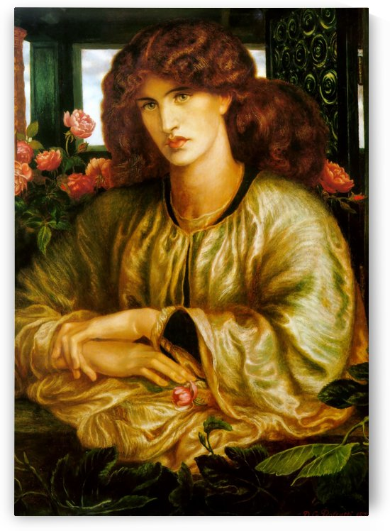 The woman and window by Dante Gabriel Rossetti