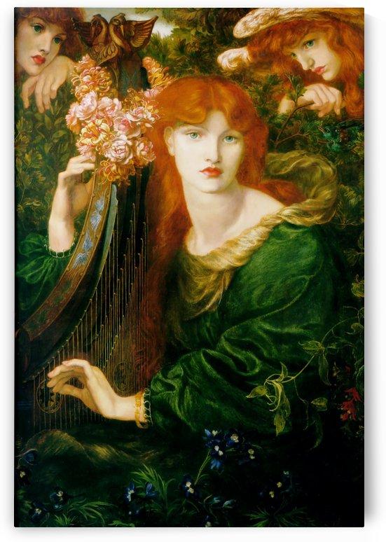 La Ghirlandata by Dante Gabriel Rossetti