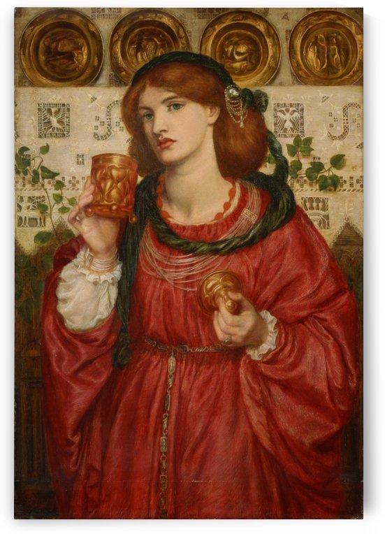 The Loving Cup by Dante Gabriel Rossetti