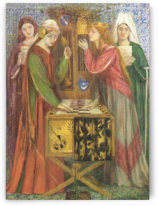 The Blue Closet, 1857 by Dante Gabriel Rossetti