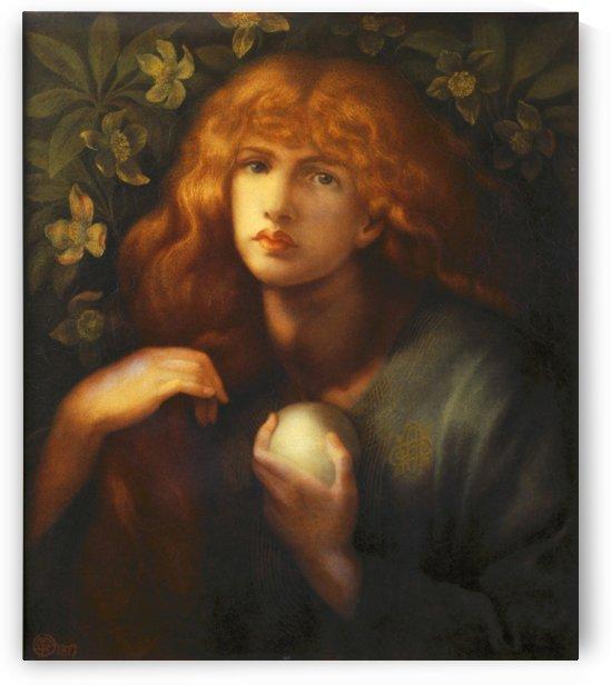 Mary Magdalene, 1877 by Dante Gabriel Rossetti