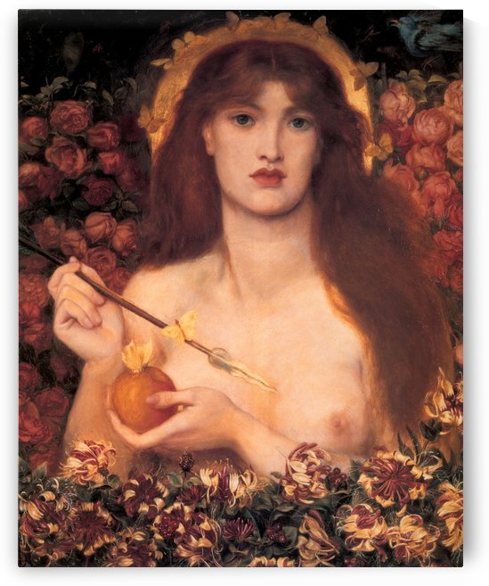 Venus Verticordia, 1868 by Dante Gabriel Rossetti