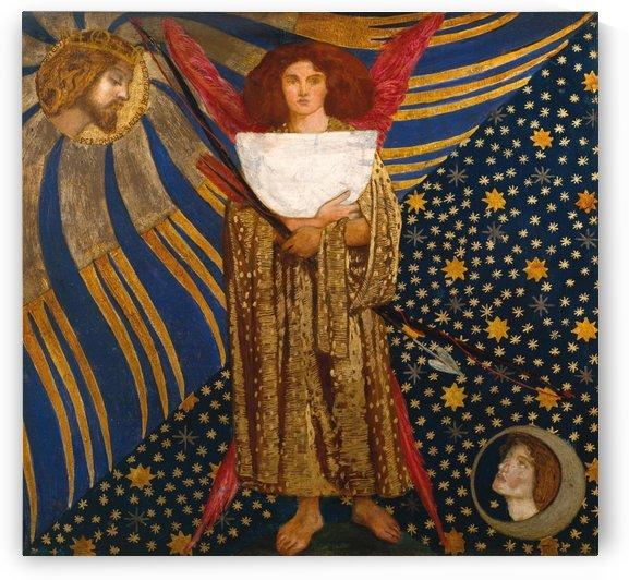 Dantis Amor, 1860 by Dante Gabriel Rossetti