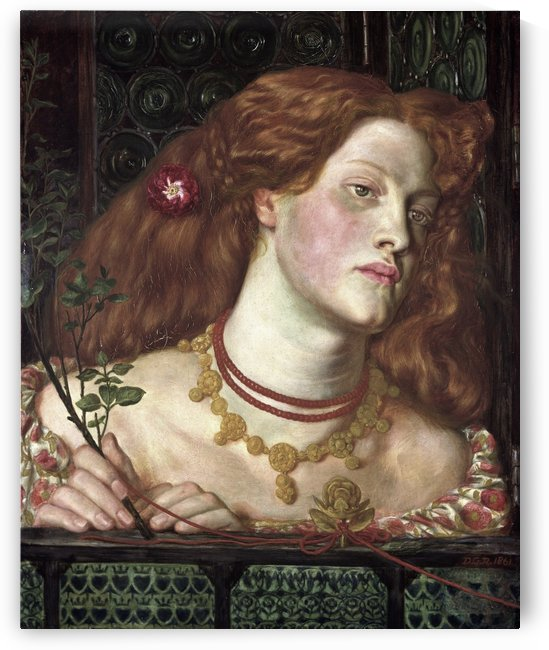 Fair Rosamund, 1861 by Dante Gabriel Rossetti
