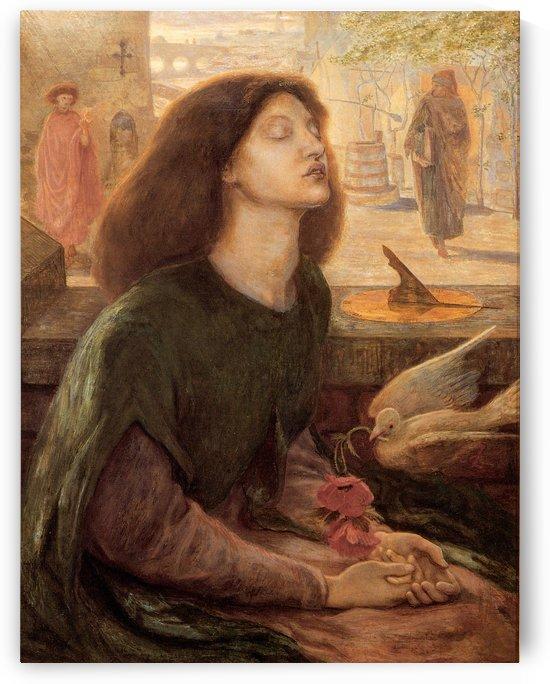 Beata Beatrix lighted by Dante Gabriel Rossetti