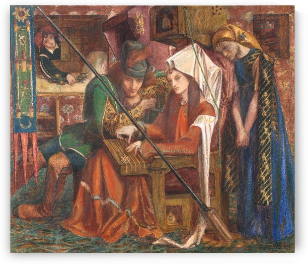 The Tune of the Seven Towers by Dante Gabriel Rossetti