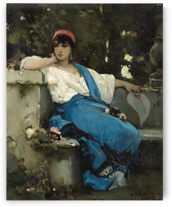 Reverie by Dante Gabriel Rossetti