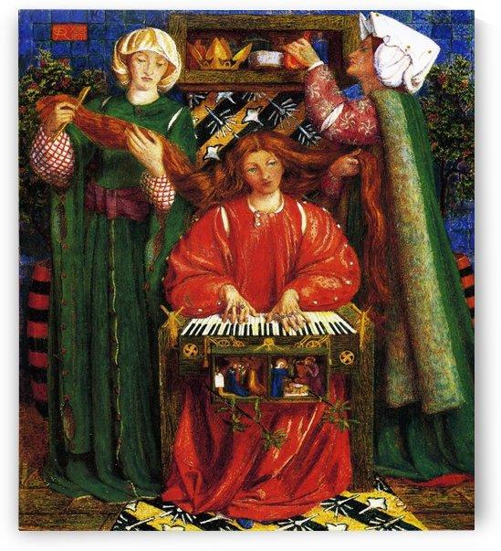 Christmas Carol by Dante Gabriel Rossetti