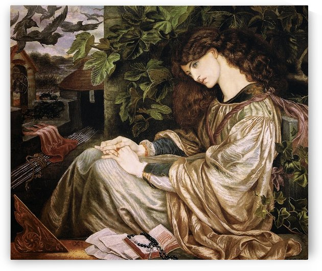 La Pia de Tolomei by Dante Gabriel Rossetti