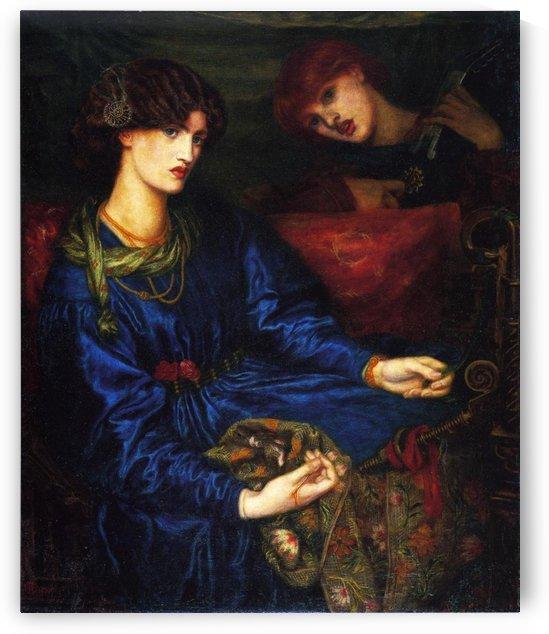 Mariana by Dante Gabriel Rossetti