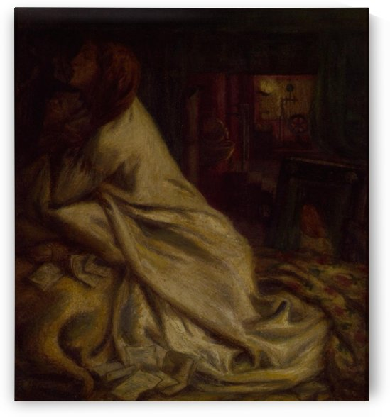The Heart of the Night by Dante Gabriel Rossetti