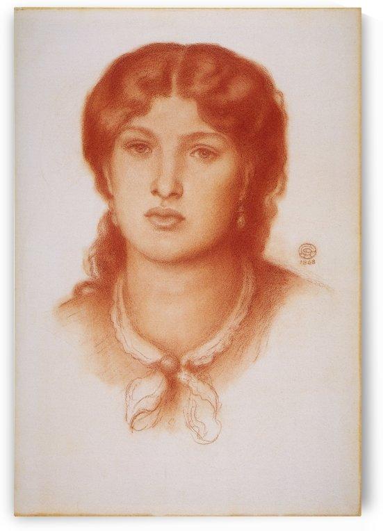 Fanny Cornforth by Dante Gabriel Rossetti