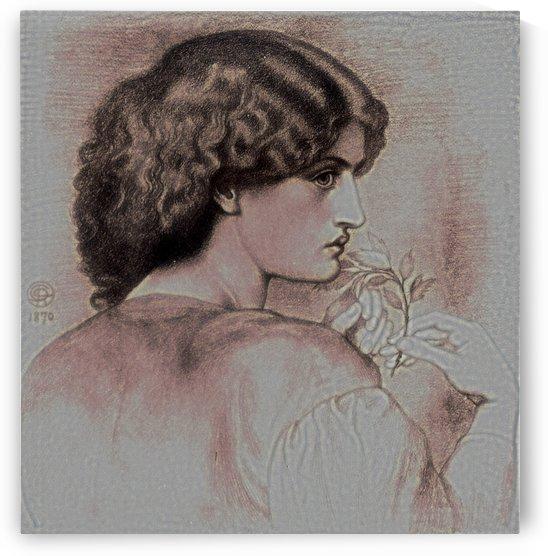 The Roseleaf by Dante Gabriel Rossetti