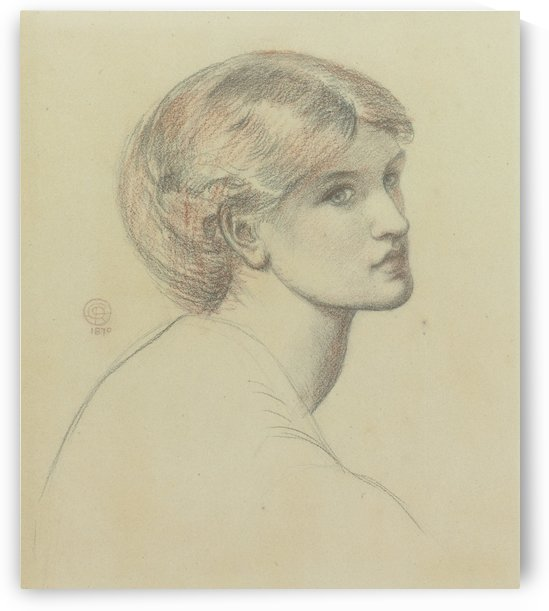 Alexa Wildin by Dante Gabriel Rossetti