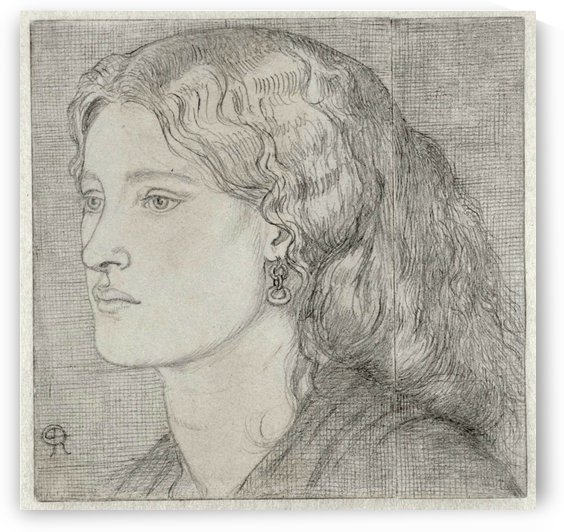 Fanny Cornforth 1859 by Dante Gabriel Rossetti