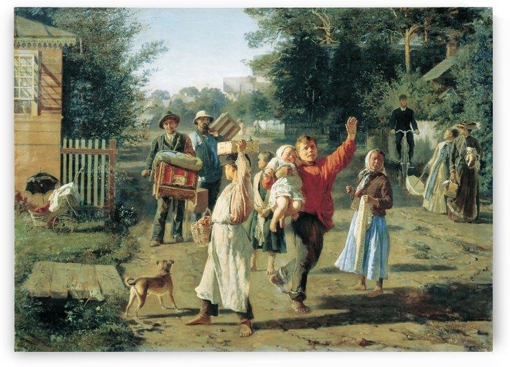 There Goes Petrushka, 1888 by Alexey Korzukhin