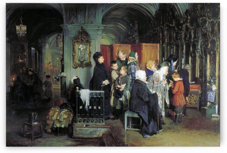 Before Confession by Alexey Korzukhin